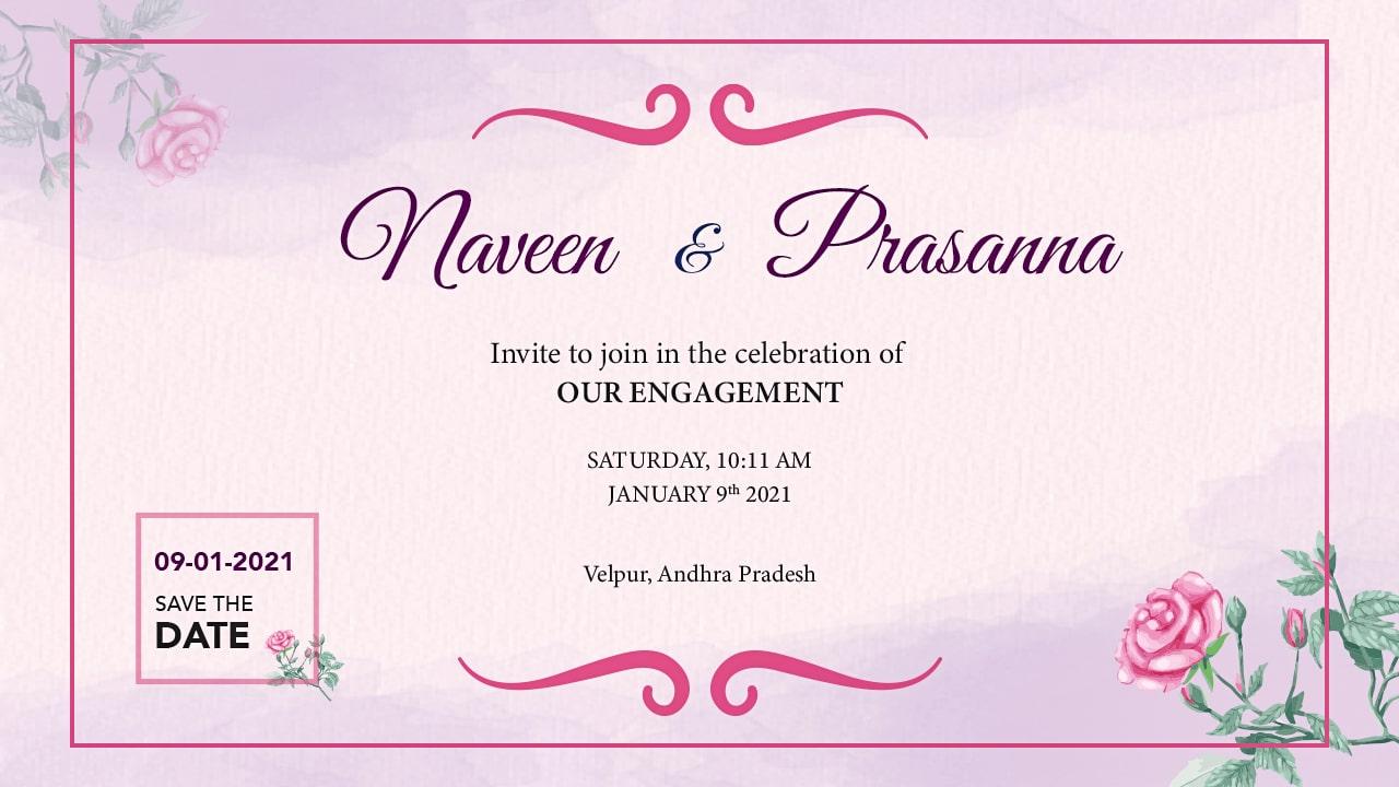 Naveen & Prasanna Engagement Ceremony Thumbnail